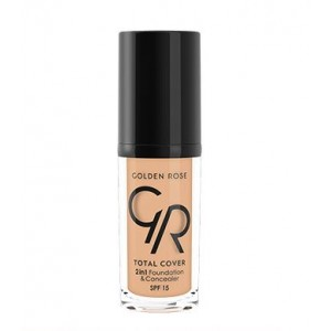 Total Cover 2in1 Foundation & Concealer 12 Golden Rose