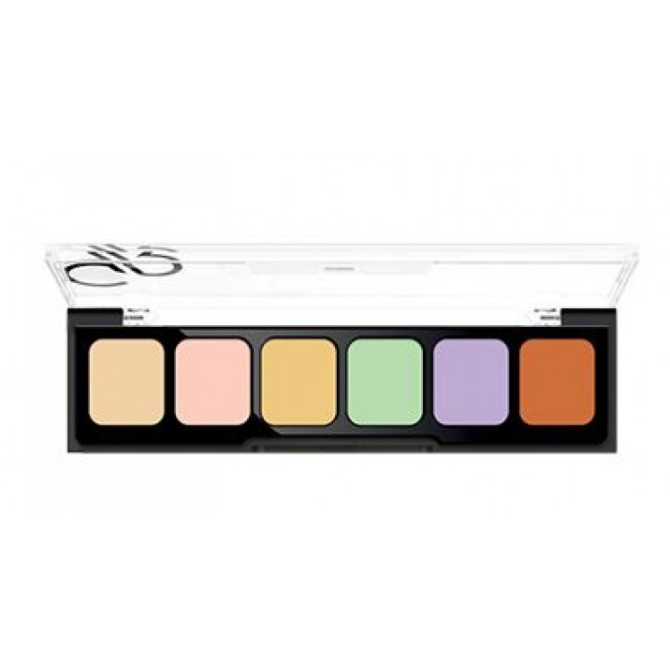 Paleta CORRECT&CONCEAL Camouflage Cream Palette Golden Rose