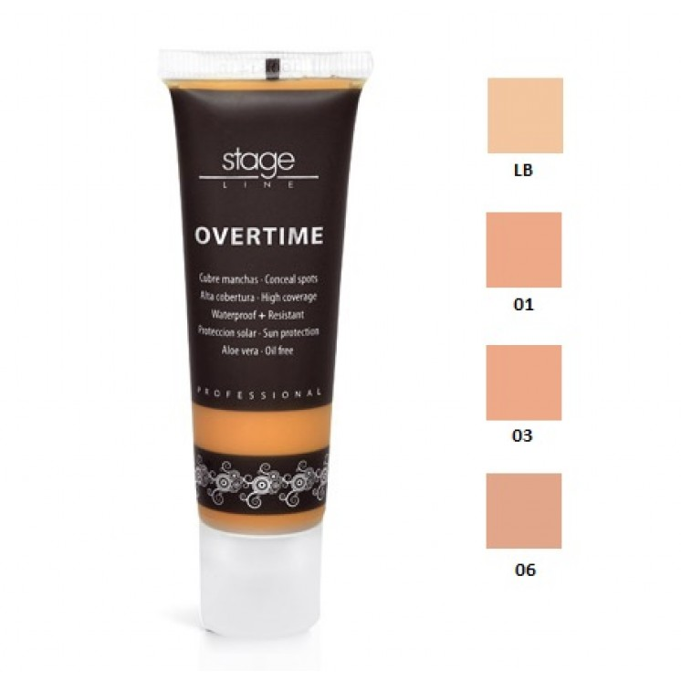 96be4a478 Stage Line Maquillaje Overtime- Melbelli Cosmeticos- Stage Line ...