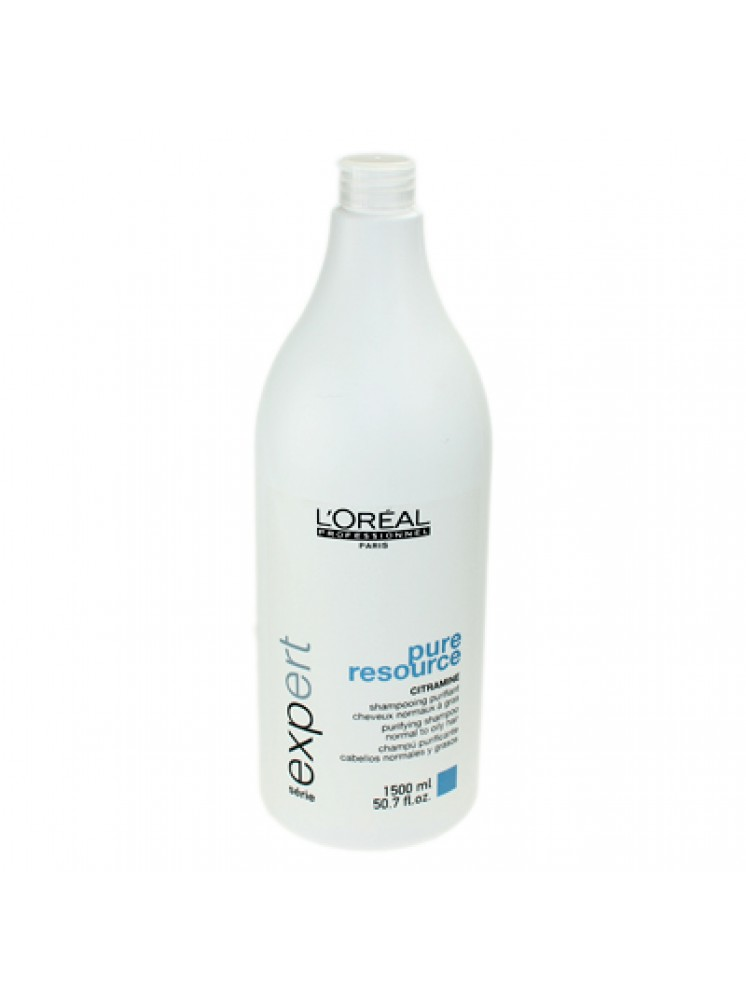 Champu 1500ml Antigrasa Pure Resource Loreal Expert